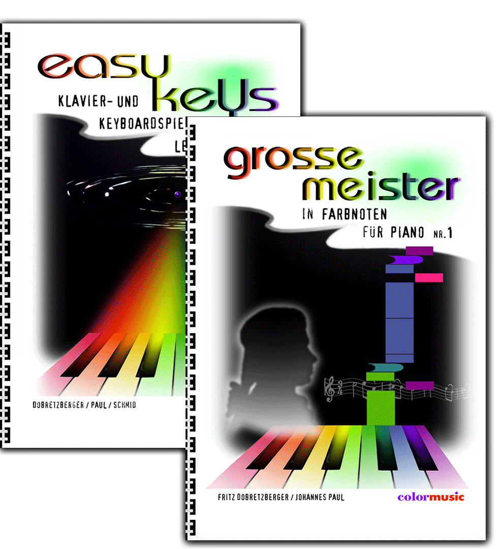 "FARBNOTEN 2er-SET ""easy keys"" + ""Grosse Meister"""