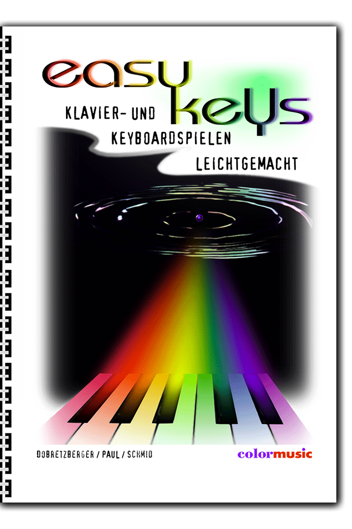 EASY KEYS -  Color-Piano and Keyboard for Beginners
